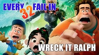 Every Fail In Wreck It Ralph, Mistakes You Never Noticed