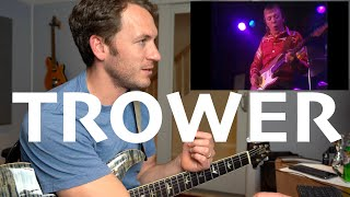 Guitar Teacher REACTS: Robin Trower Too Rolling Stoned 1980