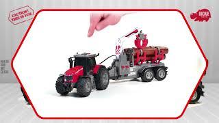 Dickie Fendt Vario és Massey Ferguson játék traktorok