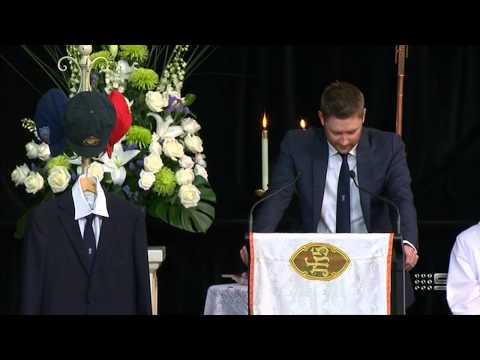 Michael Clarke's Phillip Hughes eulogy