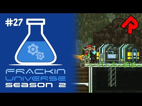 Upgrading Fission to Quantum Reactor! | Let's play Starbound Frackin' Universe S2 ep 27