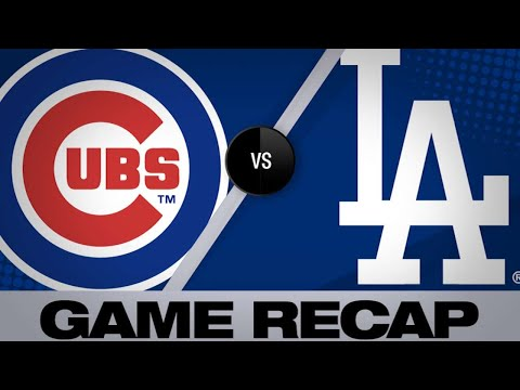 Rizzo's go-ahead HR propels Cubs | Cubs-Dodgers Game Highlights 6/15/19