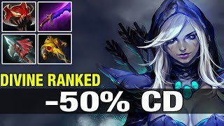 BabyKnight Plays Drow Ranger WIth -50% CD - Dota 2