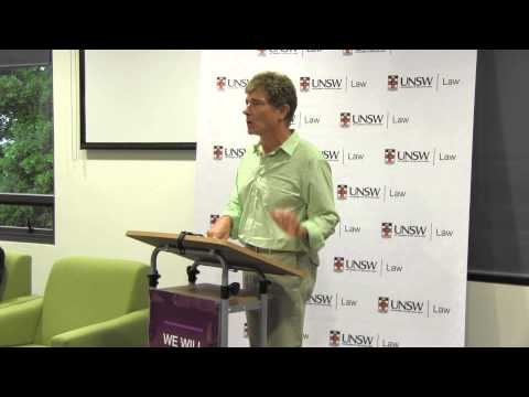 Is it the end of the line for the cab rule? Prof John Flood speaks at UNSW Law