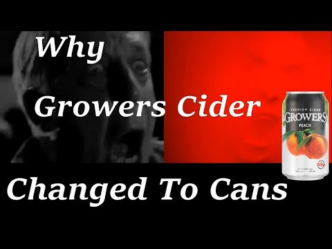 Why Growers Cider Changed to Cans