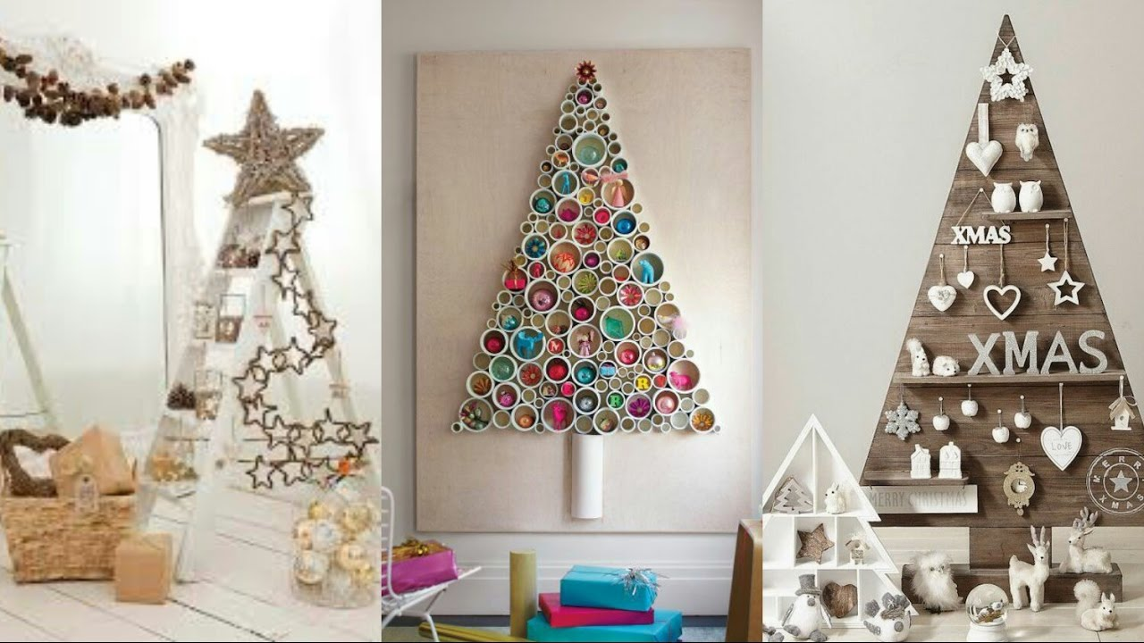 Ideas de rboles de navidad originales con objetos for Ideas originales decoracion casa