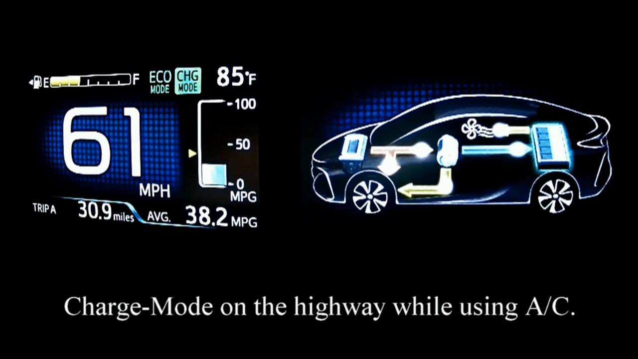 Prius Prime Charge Mode