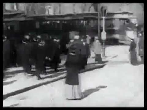 Herald Sq. to Union Sq. via Broadway (Ca. 1900s)