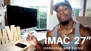 Who needs an iMac pro?? Not me! iMac 5K 2018 Review - 27 Inch iMac Unboxing and Setup 3.8GHz