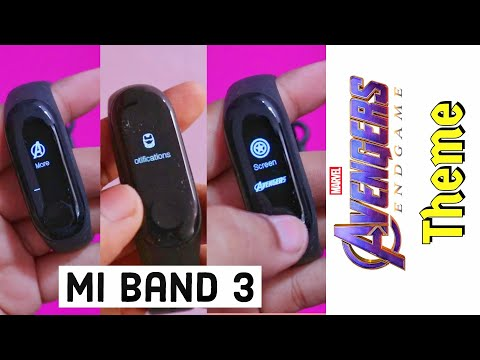 Mi Band 3 : Download & Install Avengers Theme,Full Detalis