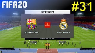 Fifa 20 - real madrid career mode #31: vs. fc barcelona (supercopa)
