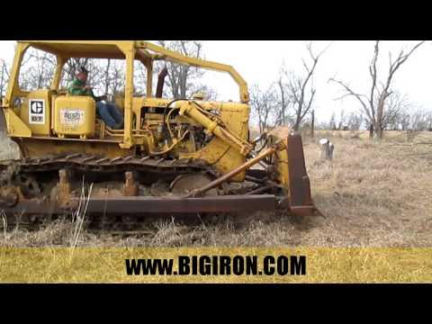 BIG IRON ONLINE AUCTION 3-16-2016: 1960 Caterpillar D7E Dozer