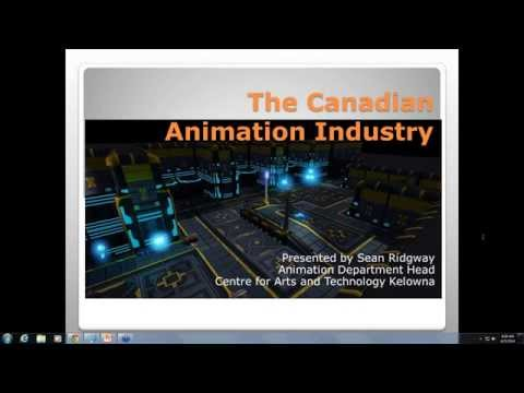 The Canadian Animation Industry - Centre for Arts and Technology