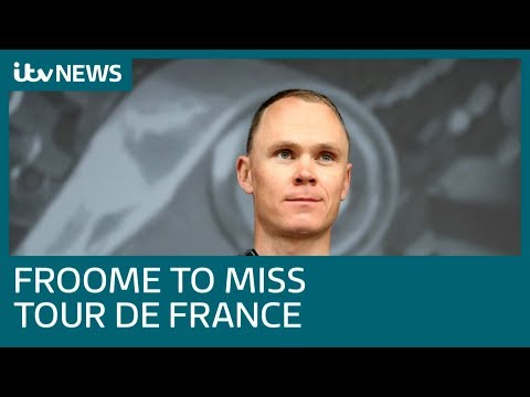 Video shows Chris Froome being urged 'not to take risks' minutes before horror crash | ITV News