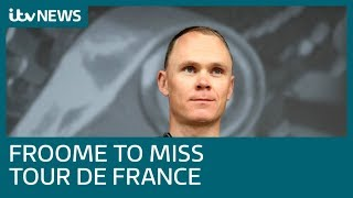 Download Video shows Chris Froome being urged 'not to take risks' minutes before horror crash | ITV News Mp3 and Videos