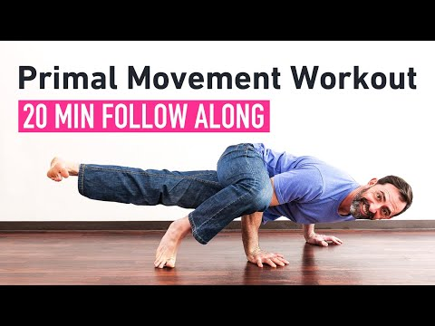 20-Minute Locomotion Circuit For Conditioning (Follow Along Workout)