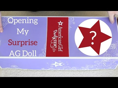 Opening My Surprise American Girl Doll!