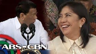 Duterte biniro si Robredo nang magkita sila sa PMA graduation | TV Patrol