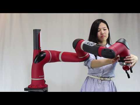 How are collaborative robots trained?