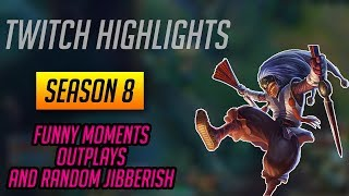 Twitch Highlights #1 - Funny Moments, Outplays and Nonsense (Shaco)
