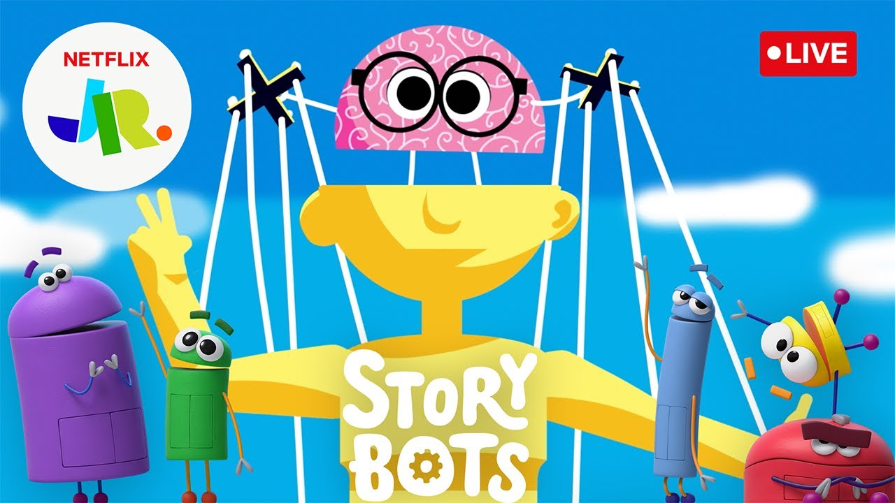 Download 🔴 LIVE! Stories on the Human Body 🧠 Read Along w/ StoryBots 🤖 Netflix Jr
