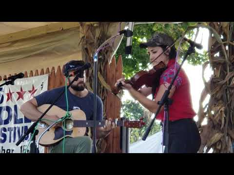 Sasha Hsuczyk at the Lyons Fiddle Festival (9-16-18)