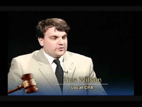 Memphis attorney Vincent Perryman discusses Tax Preparation for 2009 taxes with Gus Wilson Part 3