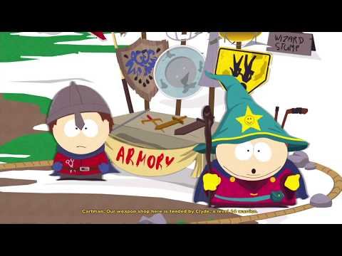South Park Stick of Truth (PS4) Part 1: The New Kid In Town