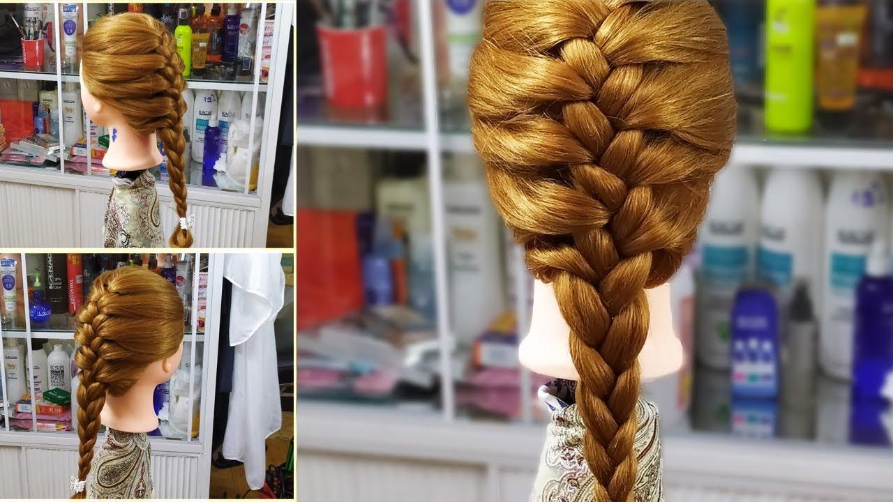Tết Tóc Đuôi Sam Kiểu Pháp! Kiểu Tết tóc được các bạn trẻ yêu thích dành cho tóc dài! Kiểu tóc 61