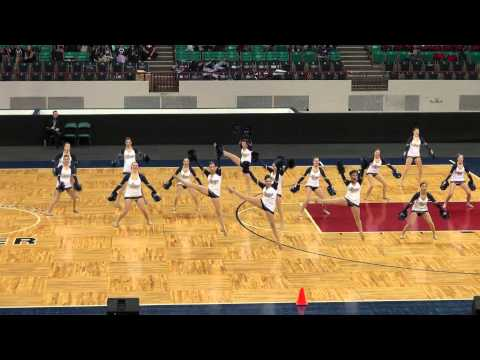 Legacy High School Varsity Poms - 2014 CHSAA Competition