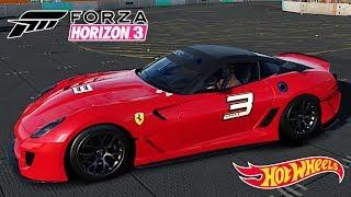 Hot Wheels Corrida Carro Ferrari 599xx 2010 - Forza Horizon 3 Gameplay PC