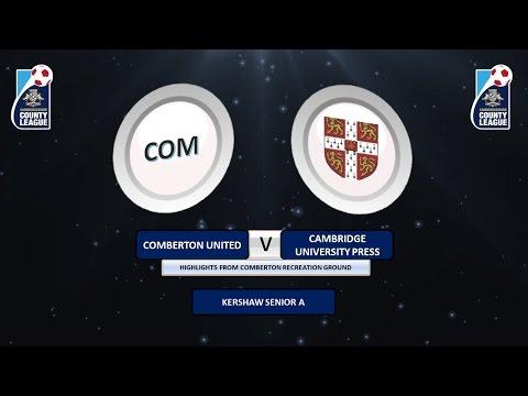 Kershaw Senior A - Comberton United vs Cambridge University Press