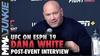 Dana White explains Yoel Romero release, says 60 cuts coming | UFC on ESPN 19 full interview