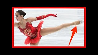 Here's why some figure skaters wear tights over their skates By J.News