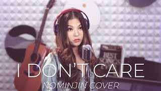 Baixar Ed Sheeran & Justin Bieber - I Don't Care | Nominjin Cover