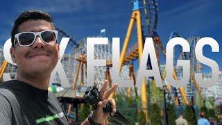Six Flags Magic Mountain: 11 montanhas-russas num único dia
