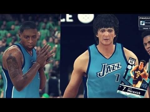 NBA 2K17 MyTEAM Online - Diamond Pistol Pete BEST EVER In 2K!! Tmac At The Buzzer!?