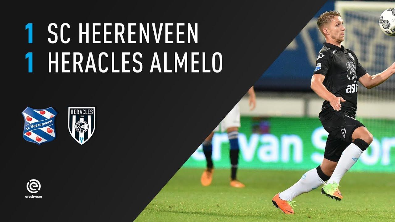 sc Heerenveen - Heracles Almelo 1-1 | 19-08-2017 | Samenvatting