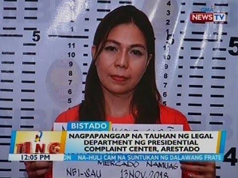 Nagpapanggap na tauhan ng legal department ng Presidential Complaint Center, arestado