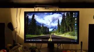 aoc g2460pg nvidia 144hz g sync 1080p monitor review by totallydubbedhd