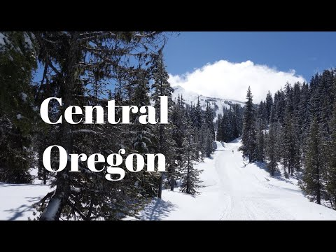 Mount Bachelor in Central Oregon near Bend in the Cascade Range.