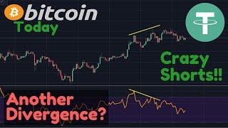 $100M Tethers To Pump Bitcoin? Bitcoin Shorts Are CRAZY!! + Another Bearish Divergence