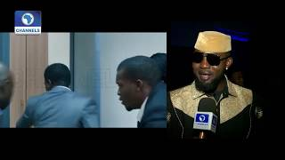 "Movie: MERRY MEN Turn Out In ""Yoruba Demon"" Inspired AGBADA | EN |"