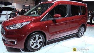 2018 Ford Tourneo Connect - Exterior and Interior Walkaround - 2018 Geneva Motor Show