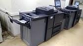 Kyocera TASKalfa 6501i печать на меловке 170г - YouTube