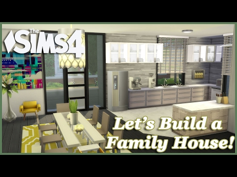 The Sims 4 - Let's build a Family House (Part 5) Realtime