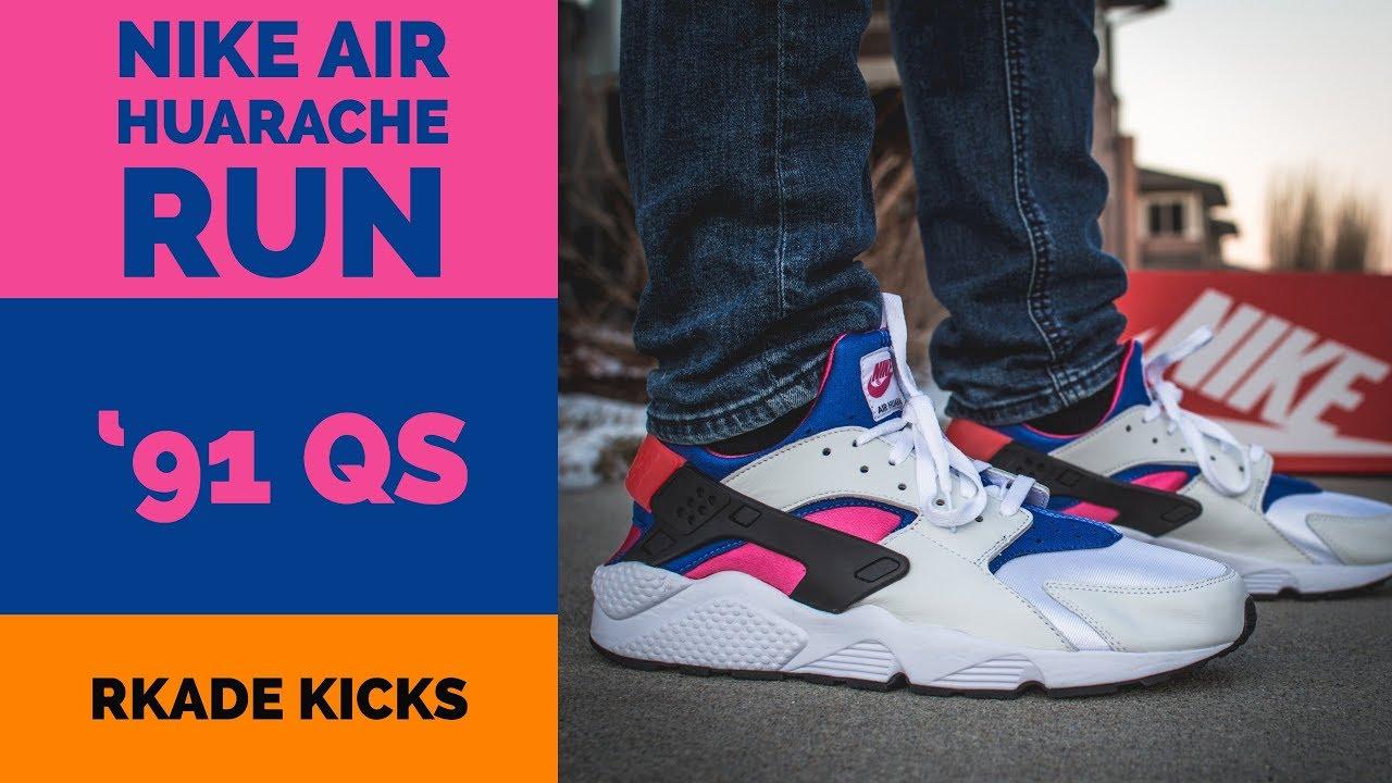 Youtube Huarache Qs Run '91 Air Nike 6O1qX5