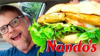 NANDO'S BURGER FOOD REVIEW - FAST FOOD FRIDAY - Greg's Kitchen