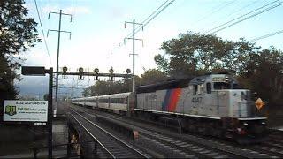 Amtrak & NJ Transit Trains 47 Trains In Under 20 Minutes