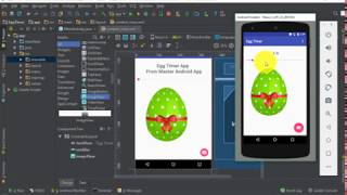 Egg Timer Android Project - Learn Android App Development with Real Examples.. Master Android App